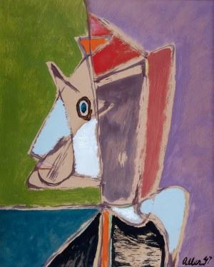 Jankiel Adler (1895 Tuszyn k. Łodzi - 1949 Aldbourne/Anglia) - Postać, 1947 r.