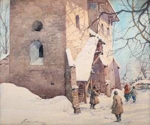 Stanisław Gibiński (1882 Rzeszów – 1971 Katowice) - Zimą, 1924 r.