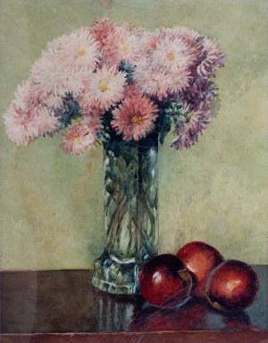 Stanisław Rydygier - Kwiaty w wazonie