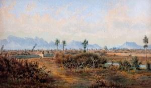 Hugo Buchwald (1836 Wrocław –1919 tamże) - Pejzaż