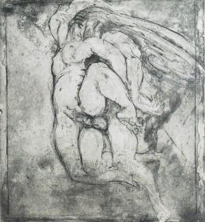 Konstanty BRANDEL (1880-1970), Érotique - Grand (Erotyk duży) - stan II, 1921