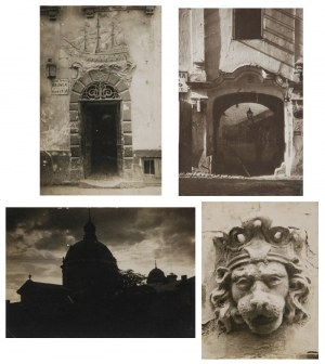 Jan BUŁHAK (1876-1950), Zestaw 14 fotografii