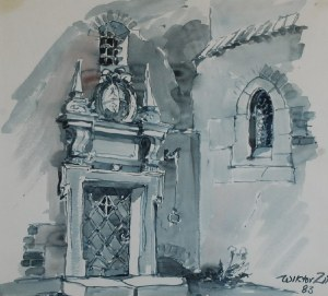 Wiktor ZIN (1925-2007), Portal, 1983