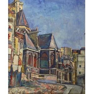 Nathan GRUNSWEIGH (1880-1943), Motyw normandzki