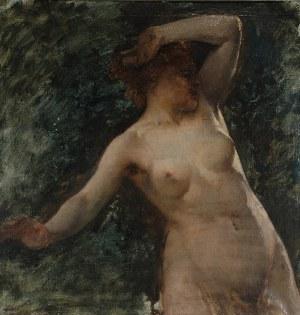 Kazimierz ALCHIMOWICZ (1840-1916), Milda, bogini piękna i miłości [Wenus Litewska] - studium, ok. 1890
