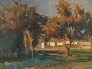 Mieczysław ORACKI SERWIN (1912-1977), W poświacie jesiennego słońca