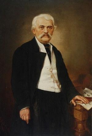 Andrzej GRABOWSKI (1833-1886), Portret mężczyzny, 1884