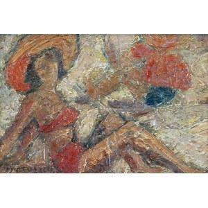 Edward MATUSZCZAK (1906-1965), Kobieta na plaży