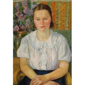 Krystyna WRÓBLEWSKA (1904-1994), Portret kobiety, 1942