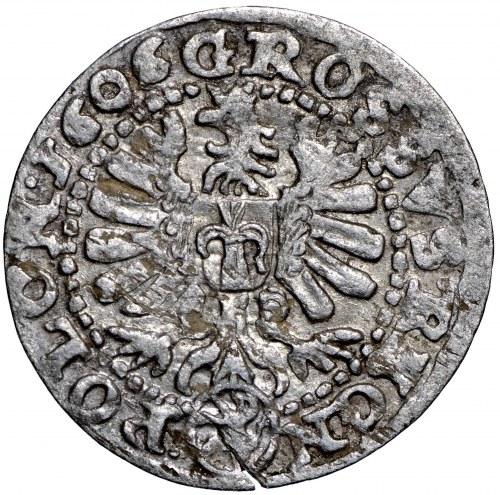 Zygmunt III Waza, Grosz 1606 Kraków - nieopisany D•-+G