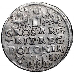 Zygmunt III Waza, Trojak 1589 Poznań