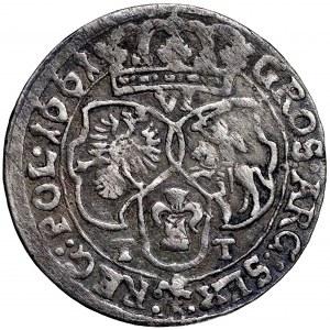 Jan II Kazimierz, Szóstak 1661 Bydgoszcz - SVE