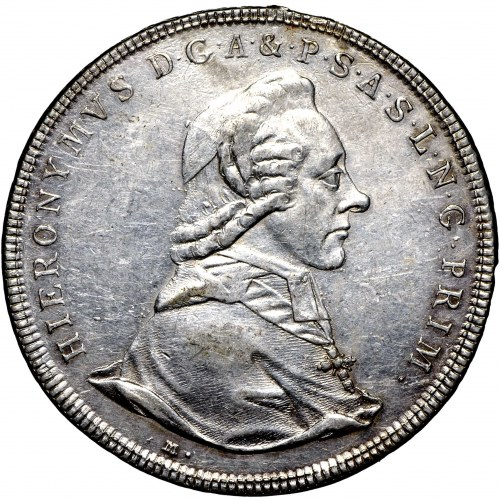 Austria, Bishopic of Salzburg, Thaler 1784