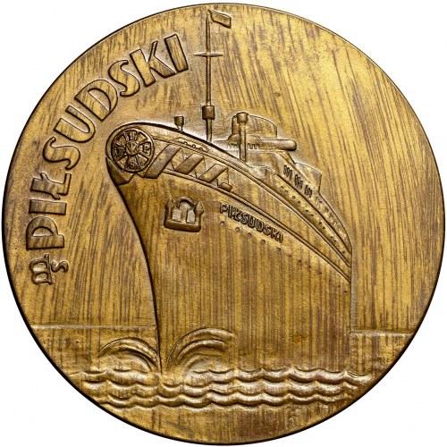 II RP, Medal M/S Piłsudski Pierwsza podróż 1935