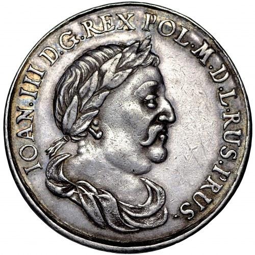 Jan III Sobieski, Medal donatywny Gdańsk bez daty