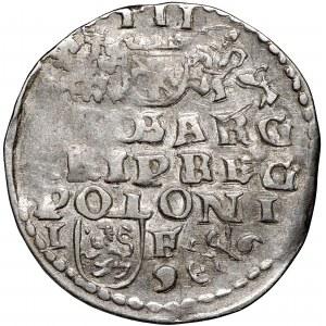 Zygmunt III Waza, Trojak 1596 Lublin