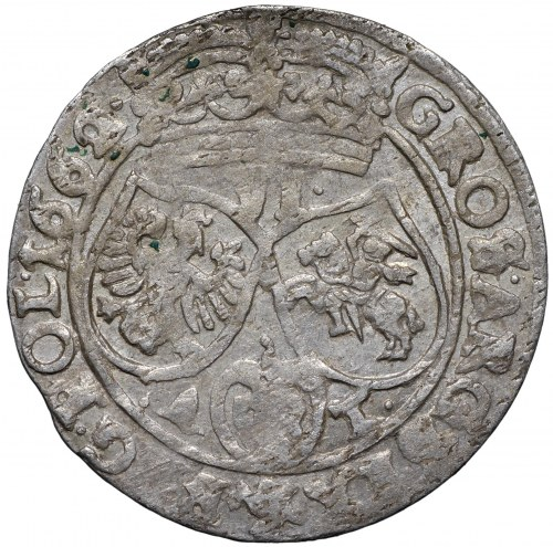 Jan II Kazimierz, Szóstak 1662 Bydgoszcz - R P