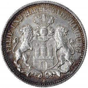 Germany, Hamburg, 2 mark 1906 J