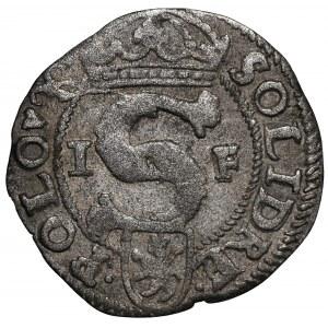 Zygmunt III Waza, Szeląg 1595 Poznań - VI