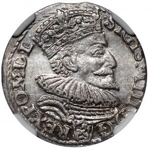 Zygmunt III Waza, Trojak 1594 Malbork
