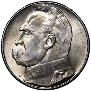 II RP, 10 złotych 1939 Piłsudski - PCGS MS63