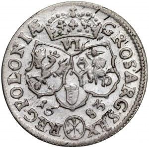 Jan III Sobieski, Szóstak 1683 Bydgoszcz - Jelita