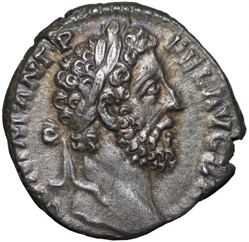 Roman Empire, Commodus, Denarius - Victory