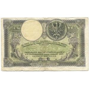 II RP, 500 złotych 1919