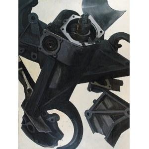 Grzegorz WNĘK (ur. 1974), Maszyna III (z cyklu Maszyny), 2004