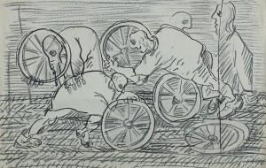 Józef Szajna, Replika III - szkic do spektaklu, 1973