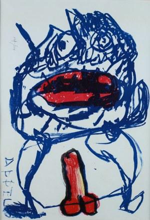 Karel Appel, 1 C Live, 1964
