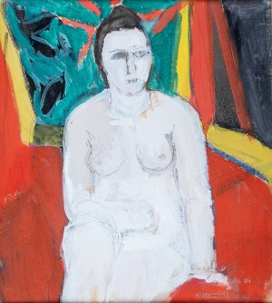 Helena Zaremba-Cybisowa (1911 Równe - 1986)Półakt, 1960 r.