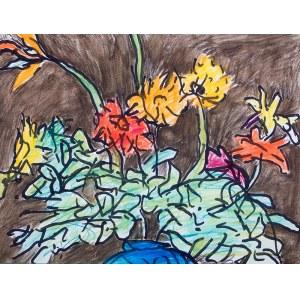 Józef Czapski (1896 Praga - 1993 Maisons-Laffitte)Kwiaty