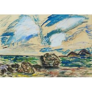 Józef Czapski (1896 Praga - 1993 Maisons-Laffitte)Procida, lata 1960-61