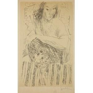 Andrzej Jurkiewicz (1907-1967)Portret kobiety, ok. 1946 r.