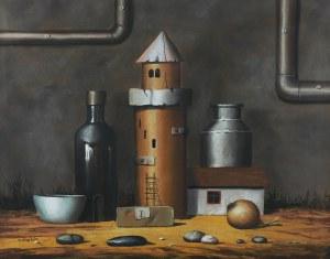 Borys Michalik (ur. 1969 r. Częstochowa)Martwa natura, 2001 r.