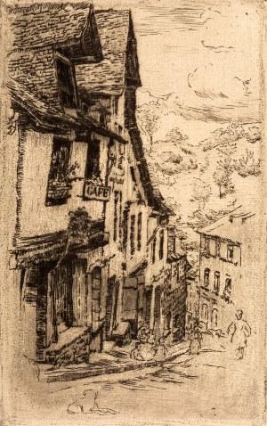 Józef Pankiewicz (1866-1940), Ulica Jeruzal w Dinan, 1906