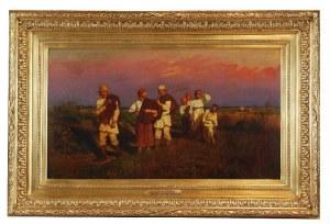 Jan Zdzisław KONOPACKI (1856-1894), Powrót żniwiarzy, 1880