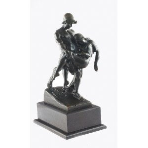 Arthur KAAN (1867-1940), Gladiator niosący ranną towarzyszkę