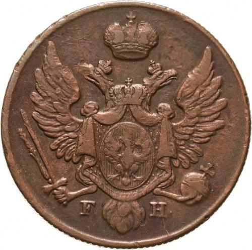 Królestwo Polskie, Mikołaj I 1825-1855, 3 grosze polskie 1830 FH, Warszawa