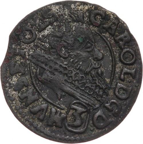 Śląsk, Księstwo ziębicko-oleśnickie, Karol II 1548-1617, fałszerstwo z epoki 3 krajcary