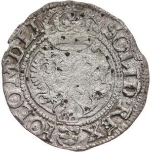 Zygmunt III Waza 1587-1632, szeląg koronny 1594, Olkusz