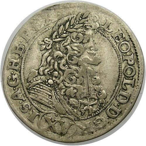 Węgry, Leopold I 1658-1705, 15 krajcarów 1690, Krzemnica