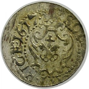 Zygmunt III Waza 1587-1632, szeląg 1617, Ryga