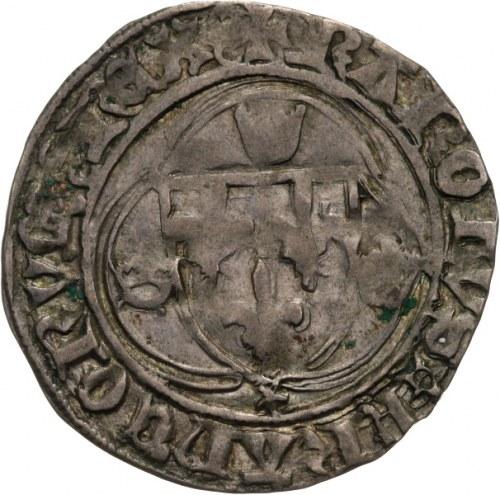 Francja, Karol VIII Życzliwy 1483-1498, ecu ok. 1488
