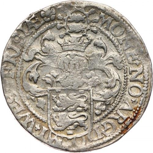 Niderlandy, Fryzja Zachodnia, talar (rijksdaalder) 1596