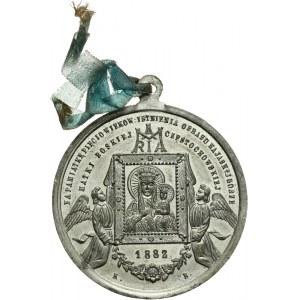 Polska, medalik religijny z Jasnej Góry 1882