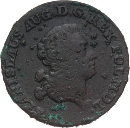 Stanisław August Poniatowski 1764-1795, trojak 1788 E.B., Warszawa.