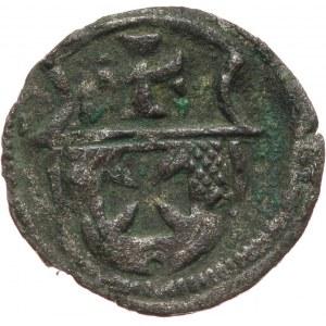 Zygmunt I Stary 1506-1548 denar bez daty, Elbląg