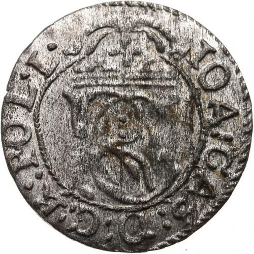 Jan II Kazimierz Waza 1649-1668 szeląg 1652, Wilno